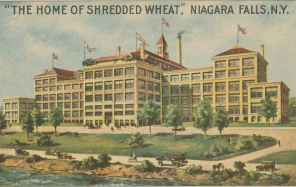 Home of Shredded Wheat, Niagara Falls, N.Y.