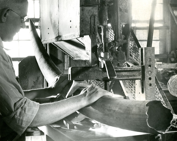 Worker in Wood & Brooks
