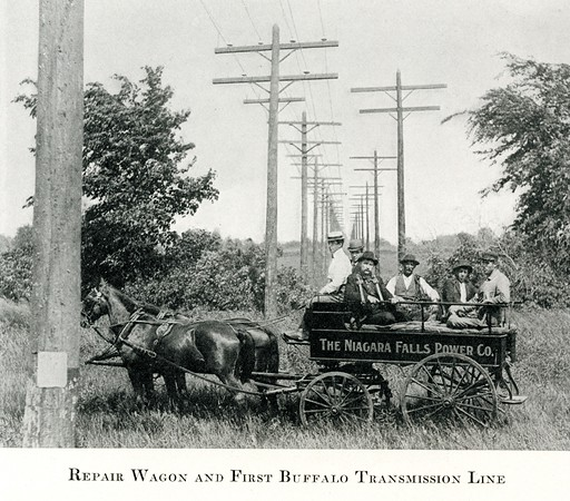 Repair Wagon and First Buffalo Transmission Line