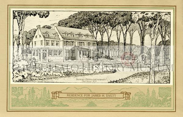 Residence for James H. Dyett