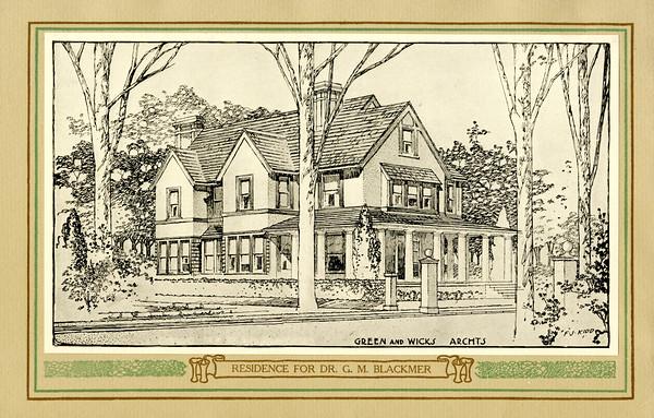Residence for Dr. G.M. Blackmer