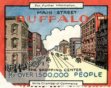 Main Street Buffalo the Shopping Center for over 1,500,000 People