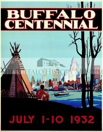 Buffalo Centennial Poster