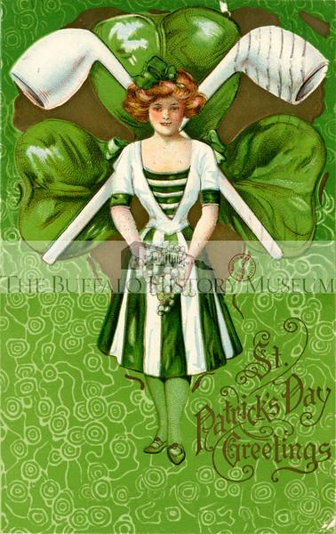 St. Patrick's Day Postcard