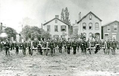 Veterans of Wiedrich's Battery, south view