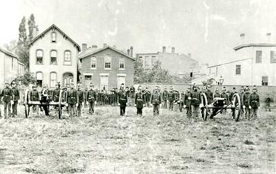 Veterans of Wiedrich's Battery, north view
