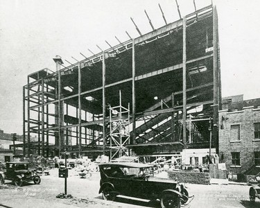 Shea's Buffalo Under Construction, 1925
