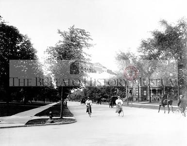 Delaware Avenue at Utica Street