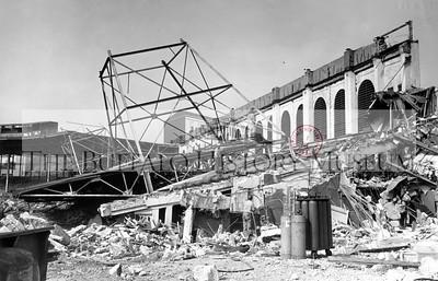 Demolition of Offermann Stadium