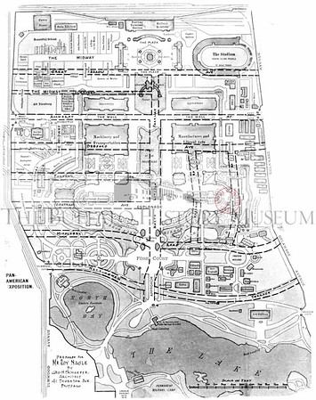 Pan-American Exposition Map