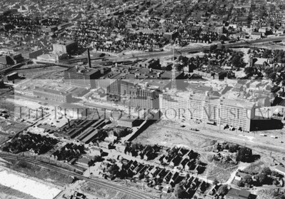 Aerial view of the Larkin Complex