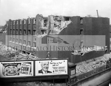 Administration Building demolition