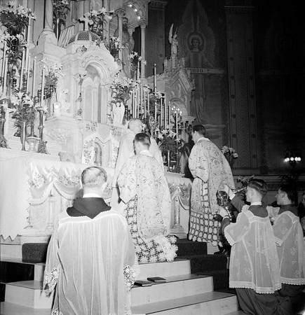 Easter Mass at Corpus Christi