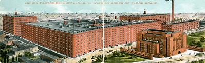 Larkin Factories postcard