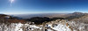 Week 3:  Panorama taken from South Peak looking west over Albuquerque.