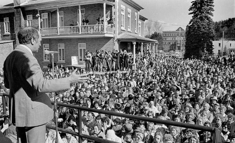 Pierre Elliot  Trudeau en campagne électorale, 1979