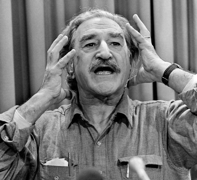Michel Chartrand en conférence, 1984