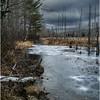 Adirondacks Lake Durant November 2015 Frozen Pond 3
