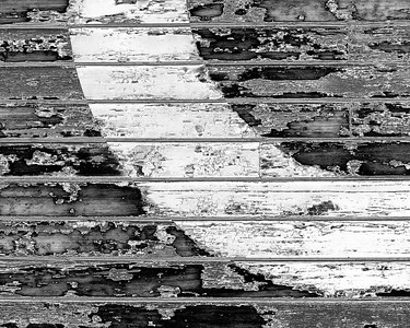 Black & White detail of old military building on Mare Island, CA