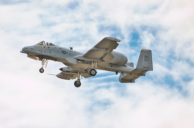 United States Air Force - The Fairchild Republic A-10 Thunderbolt II - designed solely for close air support