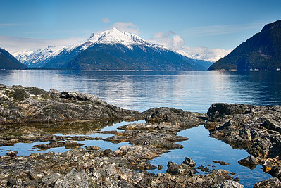 Lynn Canal; view from Battery Point, Haines, Alaska