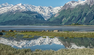 Reflections along Chilkat River
