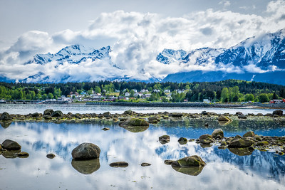 As many times as I have made this 'shot' it never gets old and I always feel compelled to add yet another iconic Haines view to the collection. My little town of Haines, Alaska.