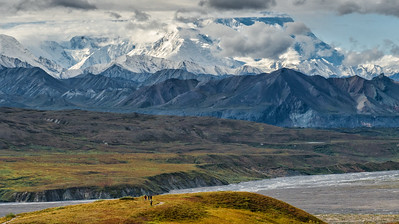 Mt. McKinley as seen from Eielson Visitor Center