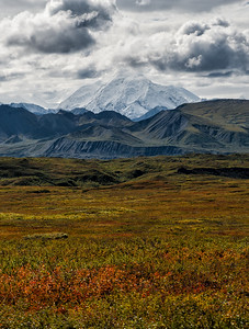 McKinley/Denali as the tundra turns