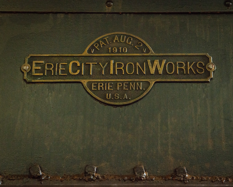 Erie City Iron Works built the boilers.
