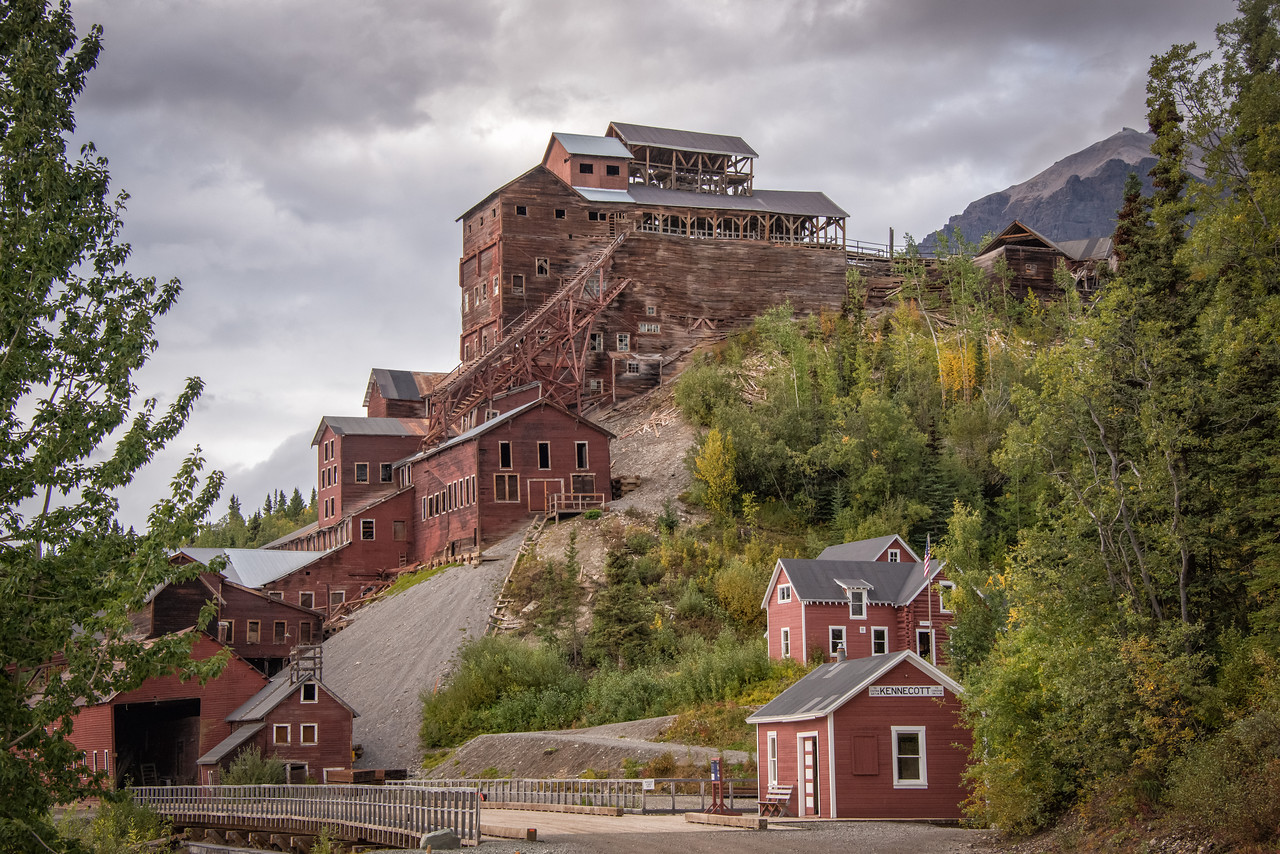The Kennecott Mill is an impressive and imposing figure offering a glimpse into history through immeasurable eye candy to any photographer.