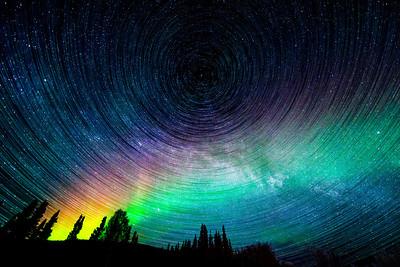 Rainbow Cosmos