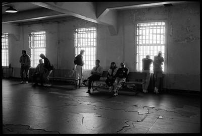 Tourist at Alcatraz, 1991.