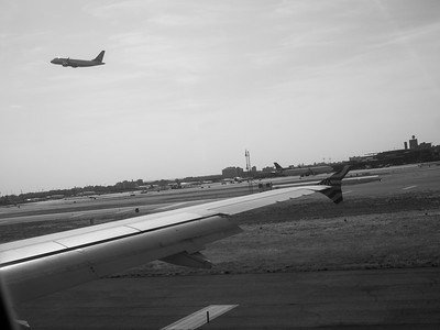 Take off & Landing, Newark International Airport 2016.