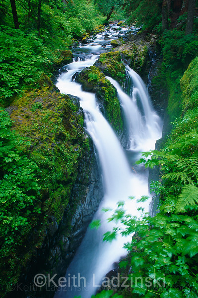 sol duc falls olympic nat park, washington