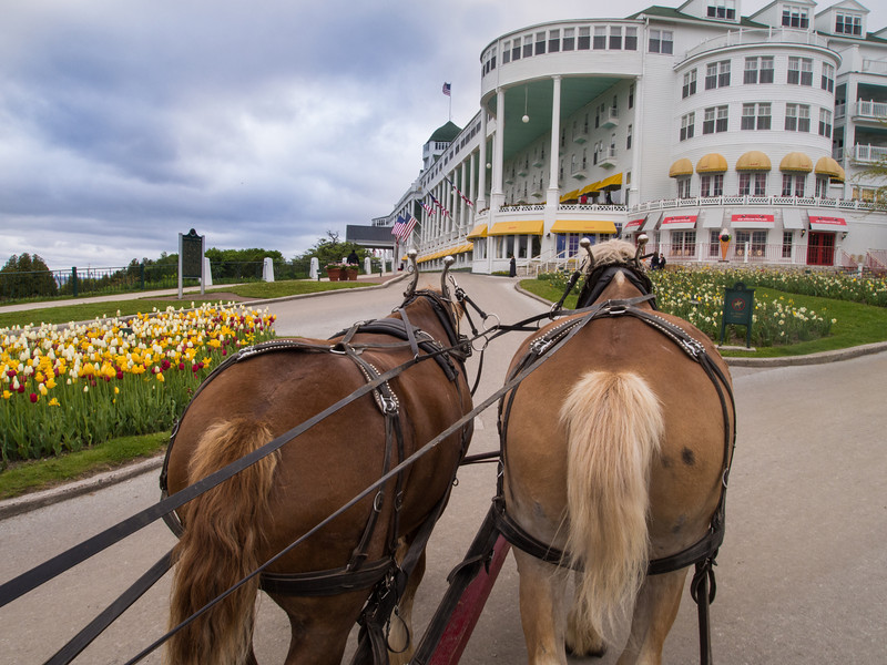 The Grand Hotel - Mackinac Island, Michigan