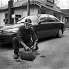 Appalachia Tennessee April 2007 Man Getting Gas