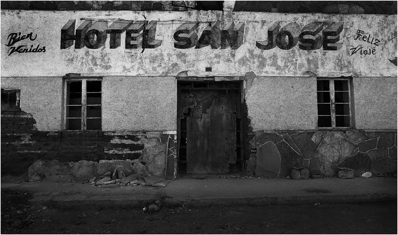 Naco Arizona April 2008 Hotel San Jose