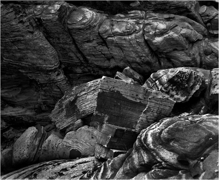 Mojave Desert California 2007 Rock Formation 3