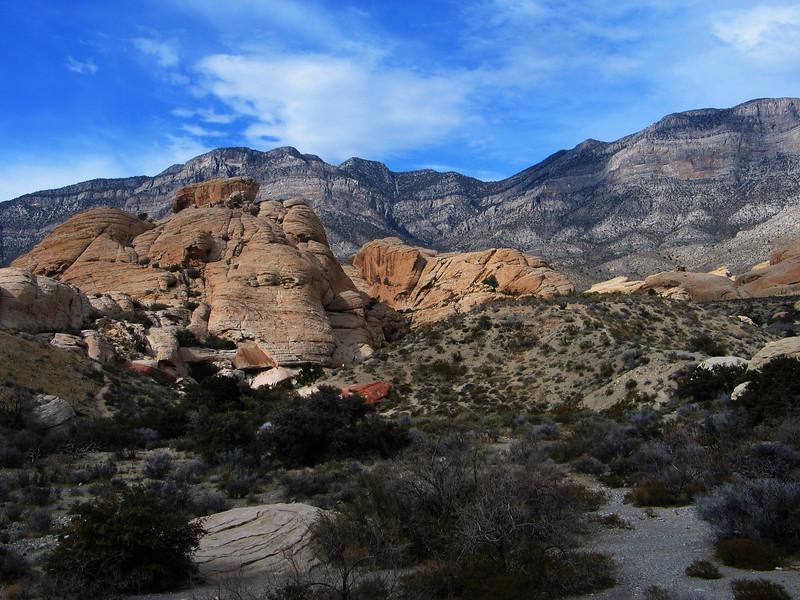 Mojave Desert California February 2007 Rocky Hills 2