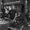 Western  Georgia April 2007 Star of the American Road Man at Machine Shop