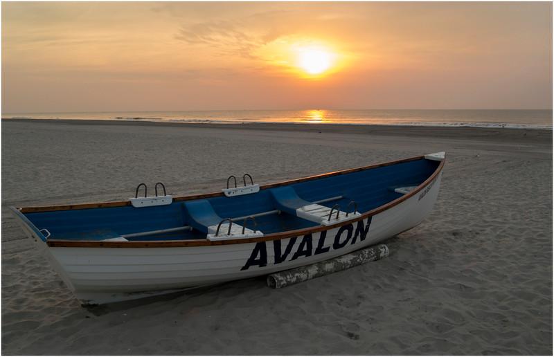Avalon NJ Lifeguard Boat September 2012