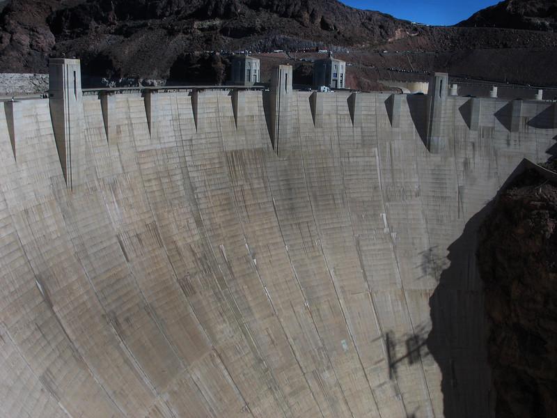 Nevada Hoover Dam February 2007 View 1