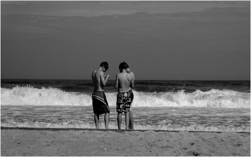 Avalon NJ Boys on the Beach July 2014