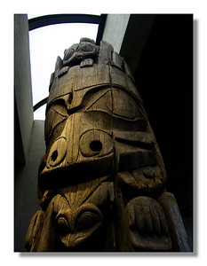 Totem Pole, Museum of Anthropology, UBC, Vancouver
