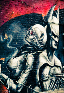 Batman & Robin Street Art