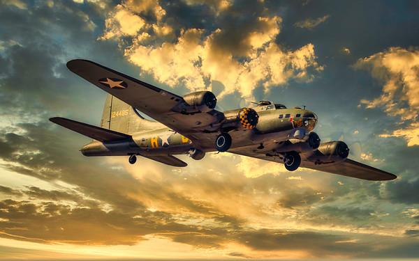 B-17G Flying Fortress 'Sally B'