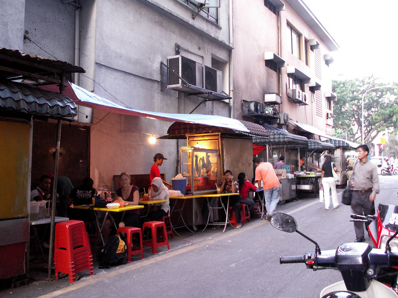 Eating out - Backalley, somewhere in Kuala Lumpur