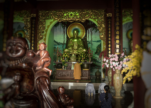 Inside The Linh Ung Pagoda
