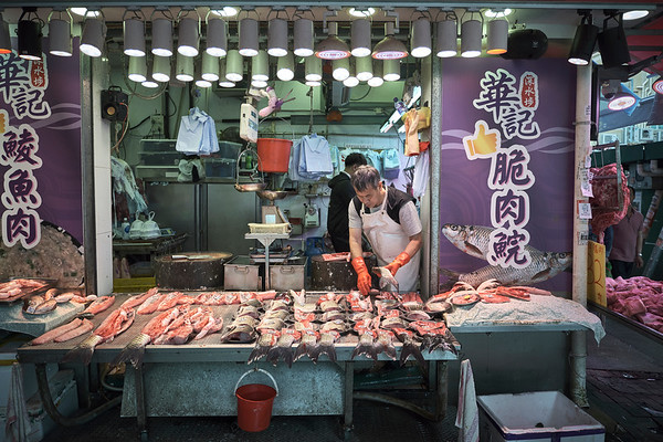 Fresh Fish At Apliu Street Market - Sham Shui Po, Hong Kong